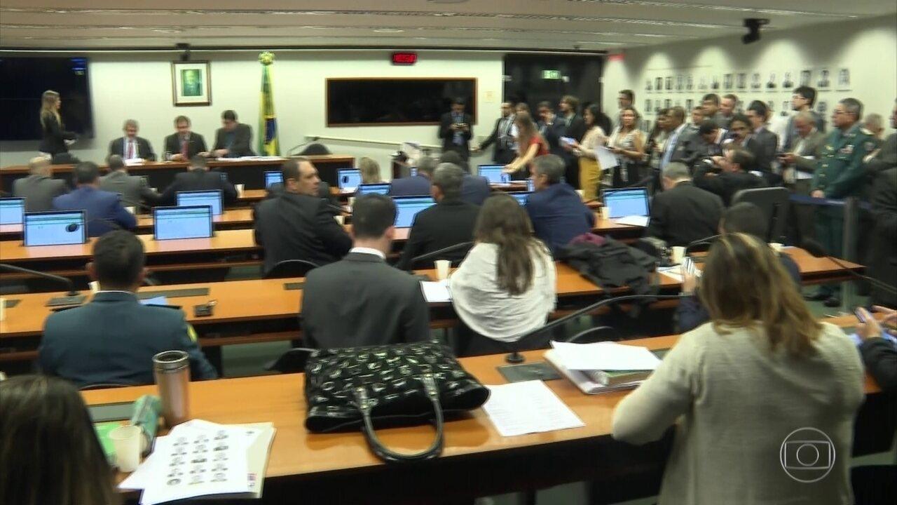 CCJ do Senado se reúne pela 1ª vez para discutir proposta da reforma da Previdência