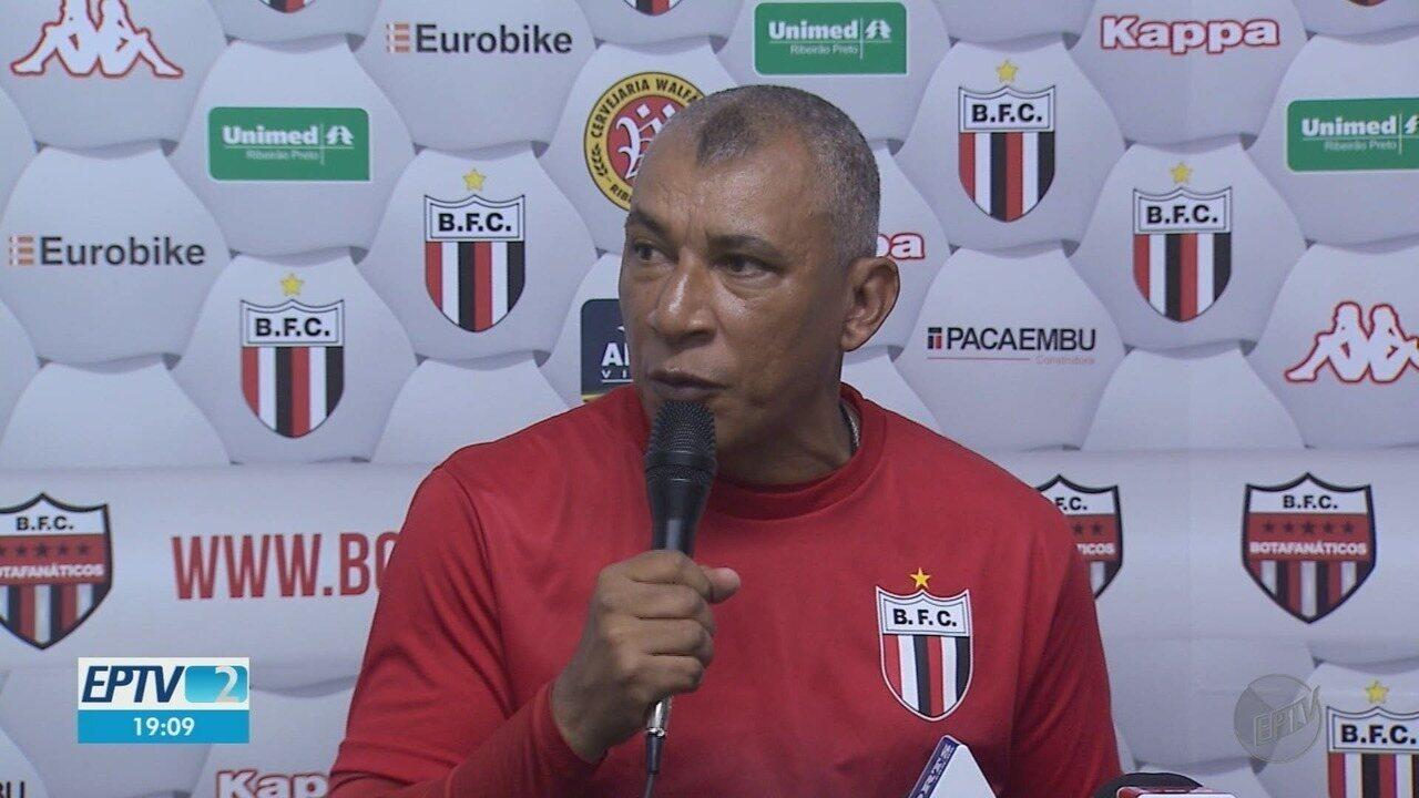 Botafogo-SP terá comando de Hemerson Maria em jogo contra Sport