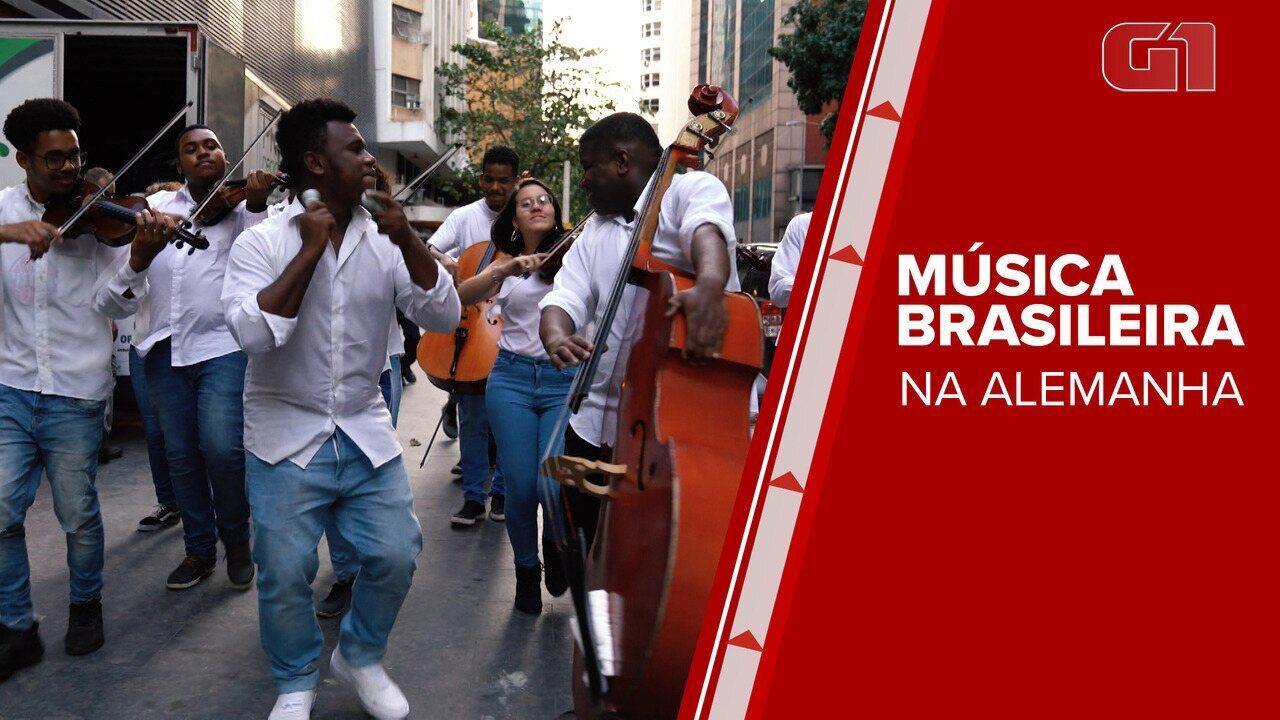 Jovens músicos de projeto social são selecionados para tocar em evento na Alemanha