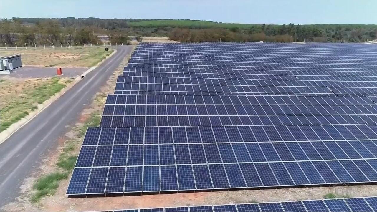 Complexo Solar é inaugurado em cidade do Centro-Oeste Paulista