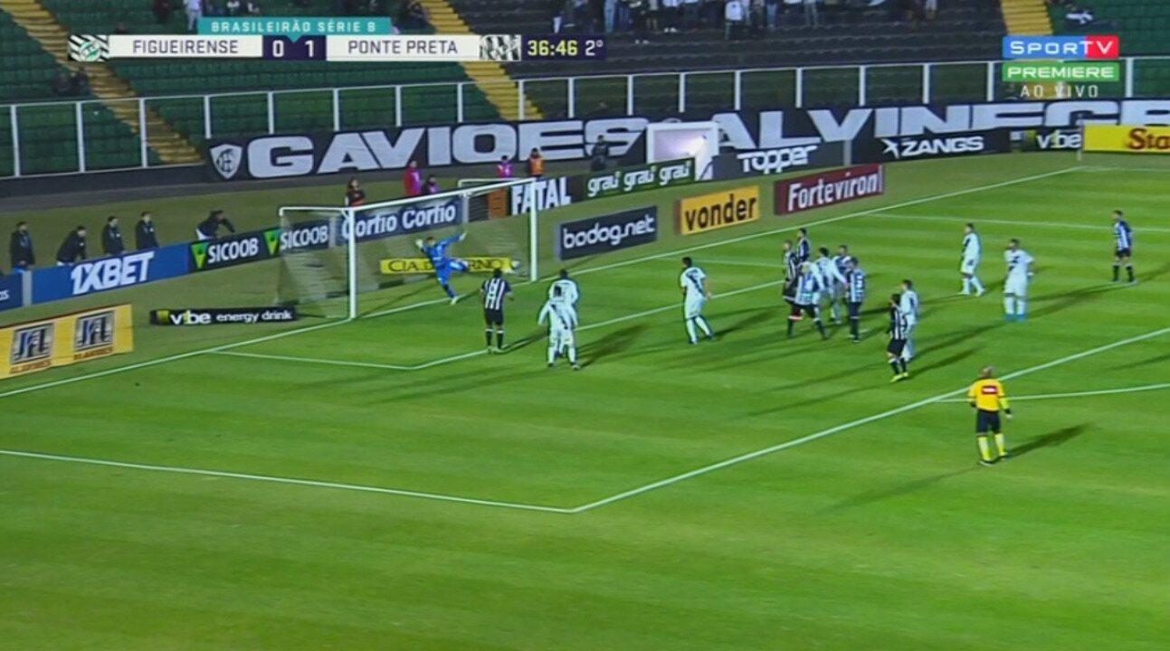 Os melhores momentos de Figueirense 0 x 1 Ponte Preta, pela 16ª rodada da Série B