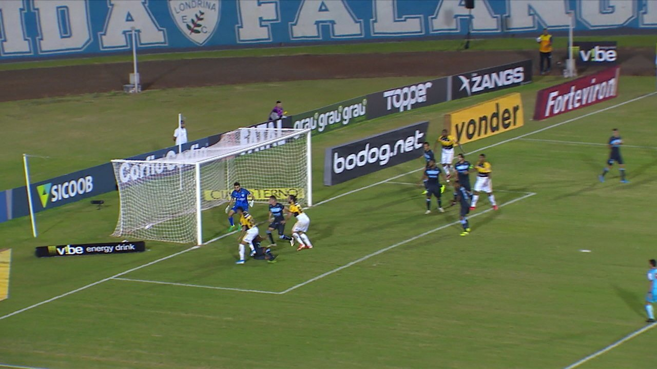 Melhores momentos: Londrina 1 x 1 Criciúma pela 16ª rodada do Brasileiro Série B