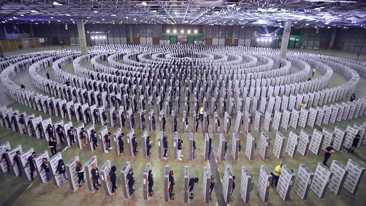 Caldeirão e Ortobom entram para para o Guinness World Records