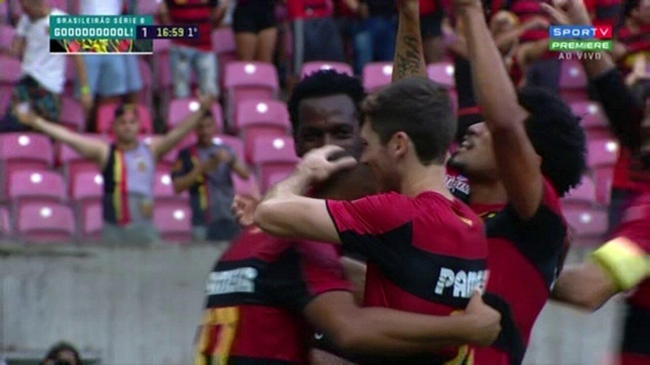 Melhores momentos de Sport 3 x 0 Botafogo-SP