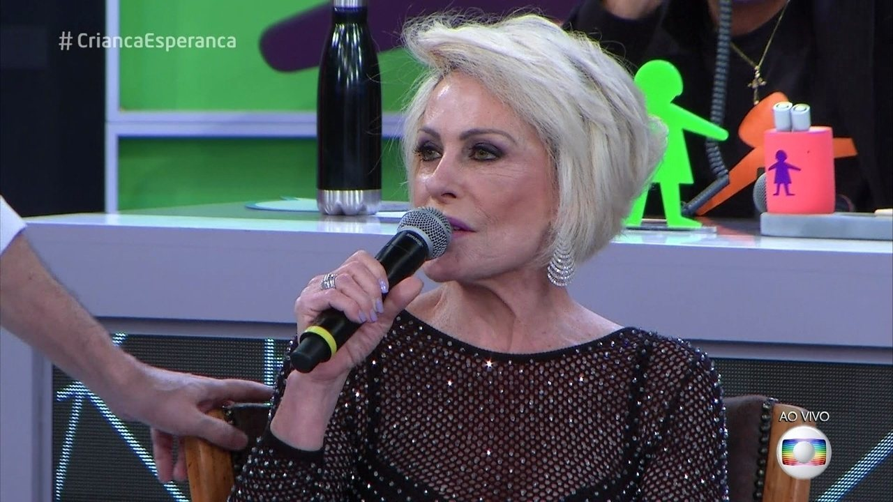Ana Maria Braga fala sobre a sintonia com Louro José