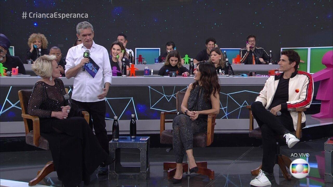Ana Maria Braga e Fátima Bernardes relembram situações embaraçosas que já passaram ao vivo