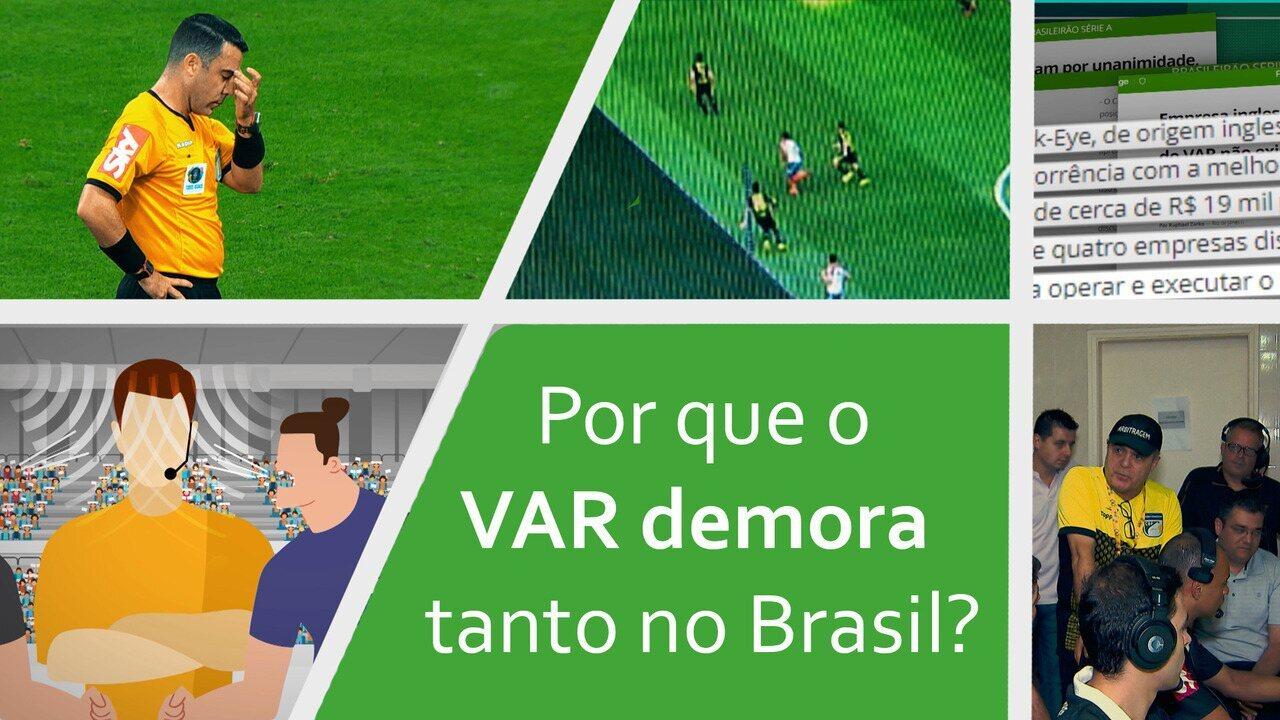 Por que o VAR demora tanto no Brasil? Entenda os motivos