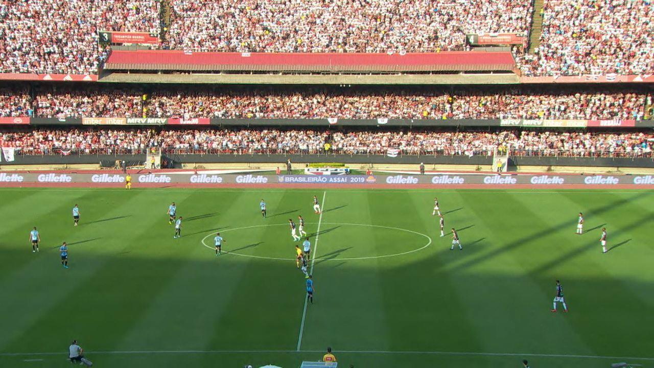 Veja como foi a estreia de Juanfran com a camisa do São Paulo na vitória sobre o Ceará