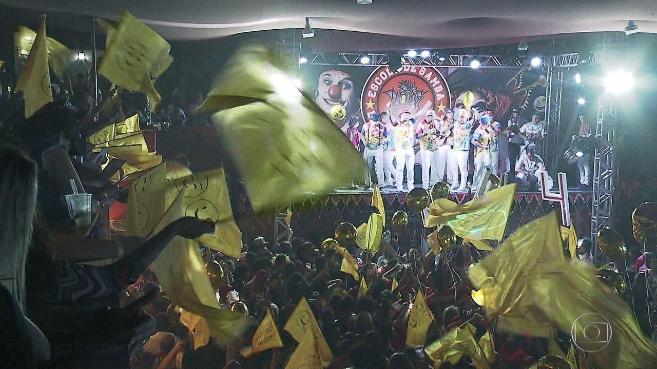 Dragões da Real definiu neste fim de semana o samba-enredo do carnaval 2020