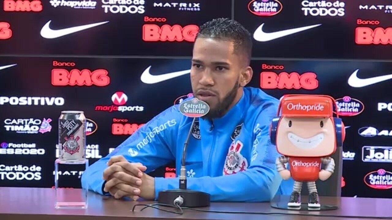 Veja a entrevista coletiva de Everaldo no Corinthians