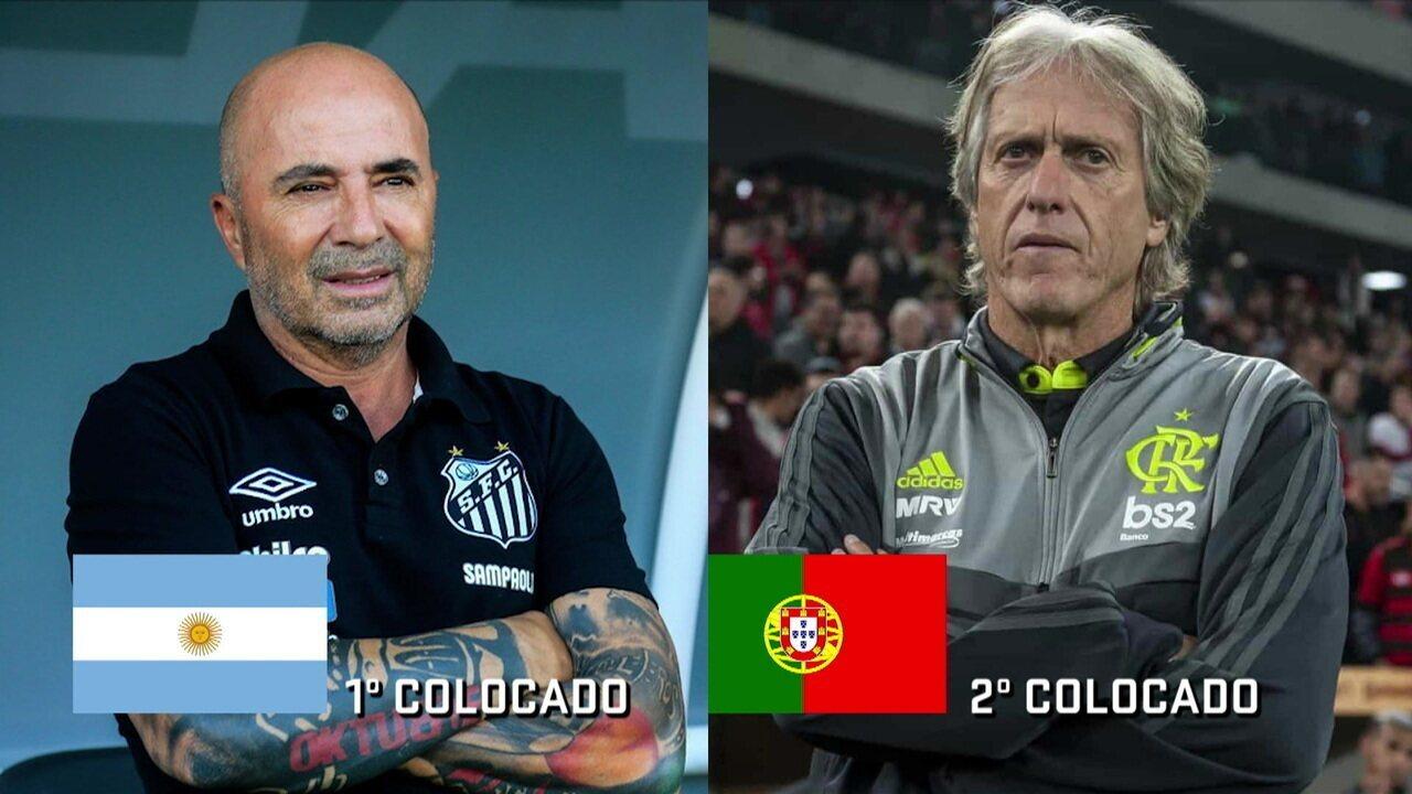 Comentaristas discutem sobre os técnicos estrangeiros que estão liderando o Campeonato Brasileiro