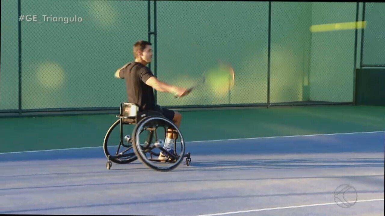 Perto da estreia no Parapan, Gustavo Carneiro fala da disputa no simples e duplas no tênis