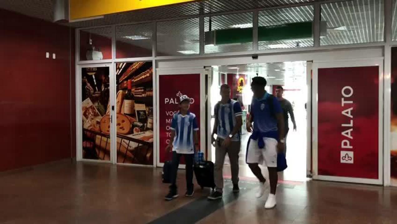 CSA desembarca em Alagoas após vitória sobre o Fluminense