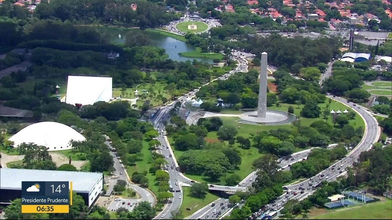 Parque do Ibirapuera comemora 65 anos de sua inauguração