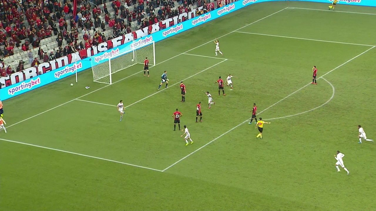 Melhores momentos de Athletico-PR 0 x 1 São Paulo pela 13ªrodada do Campeonato Brasileiro