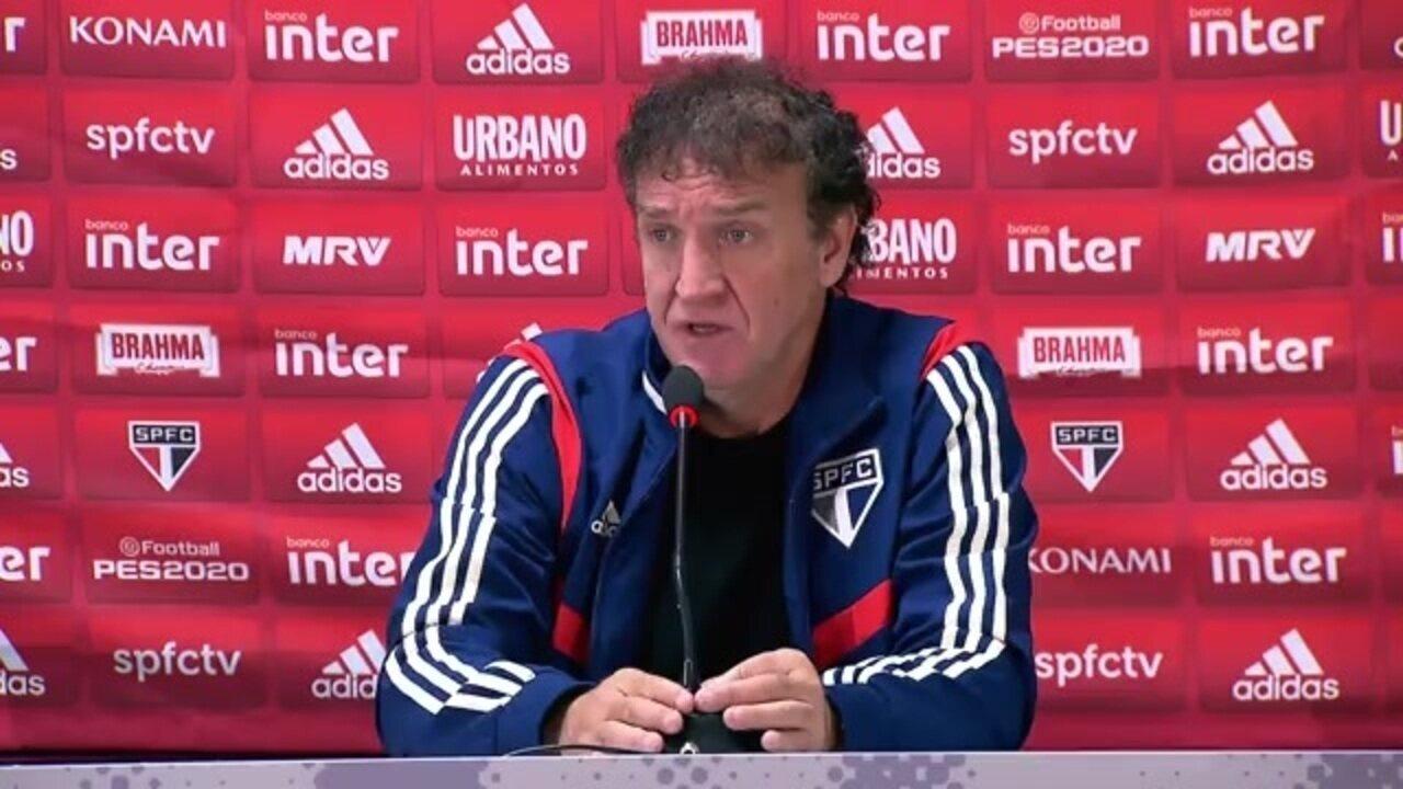 Veja a entrevista do técnico Cuca, do São Paulo, após vitória sobre o Athletico