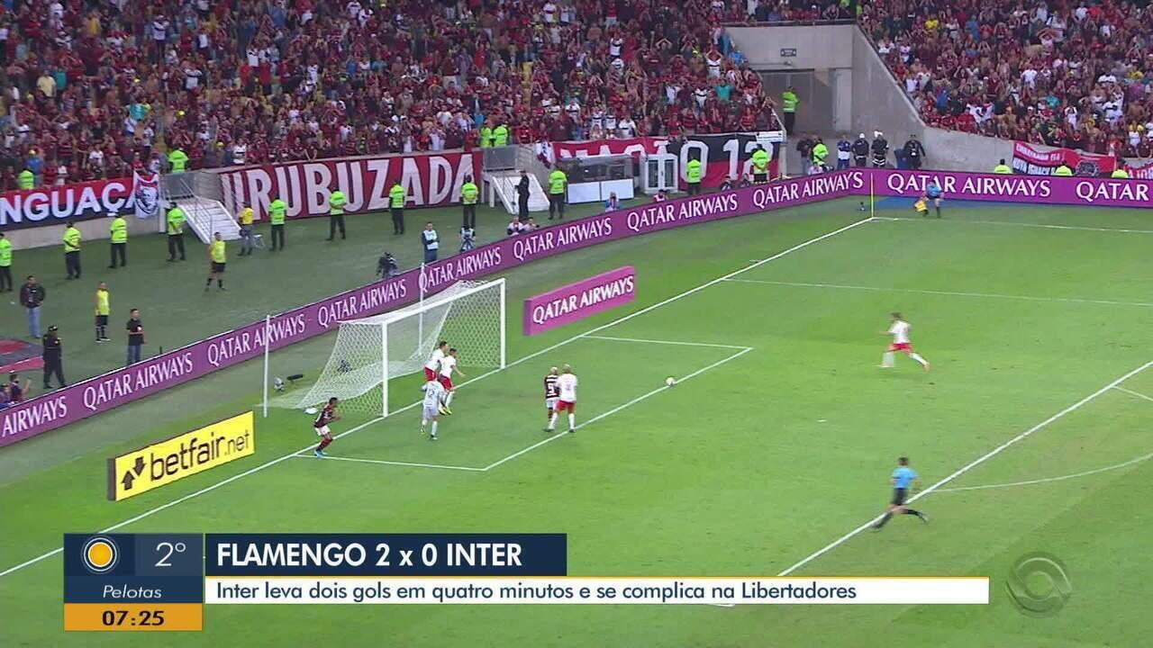 Flamengo vence e constrói boa vantagem sobre o Inter