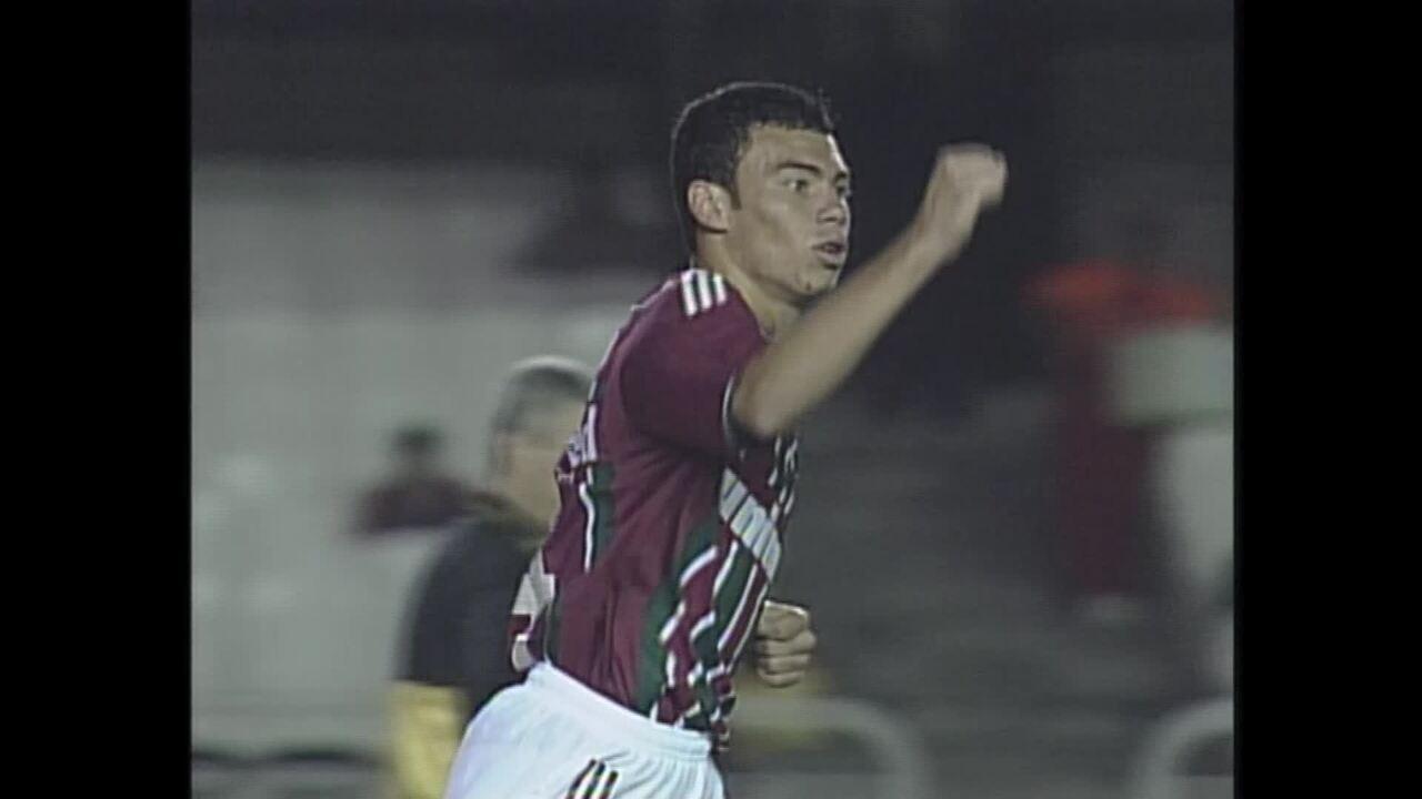 Os gols de Fluminense 2 x 0 Corinthians pela Sul-Americana de 2003