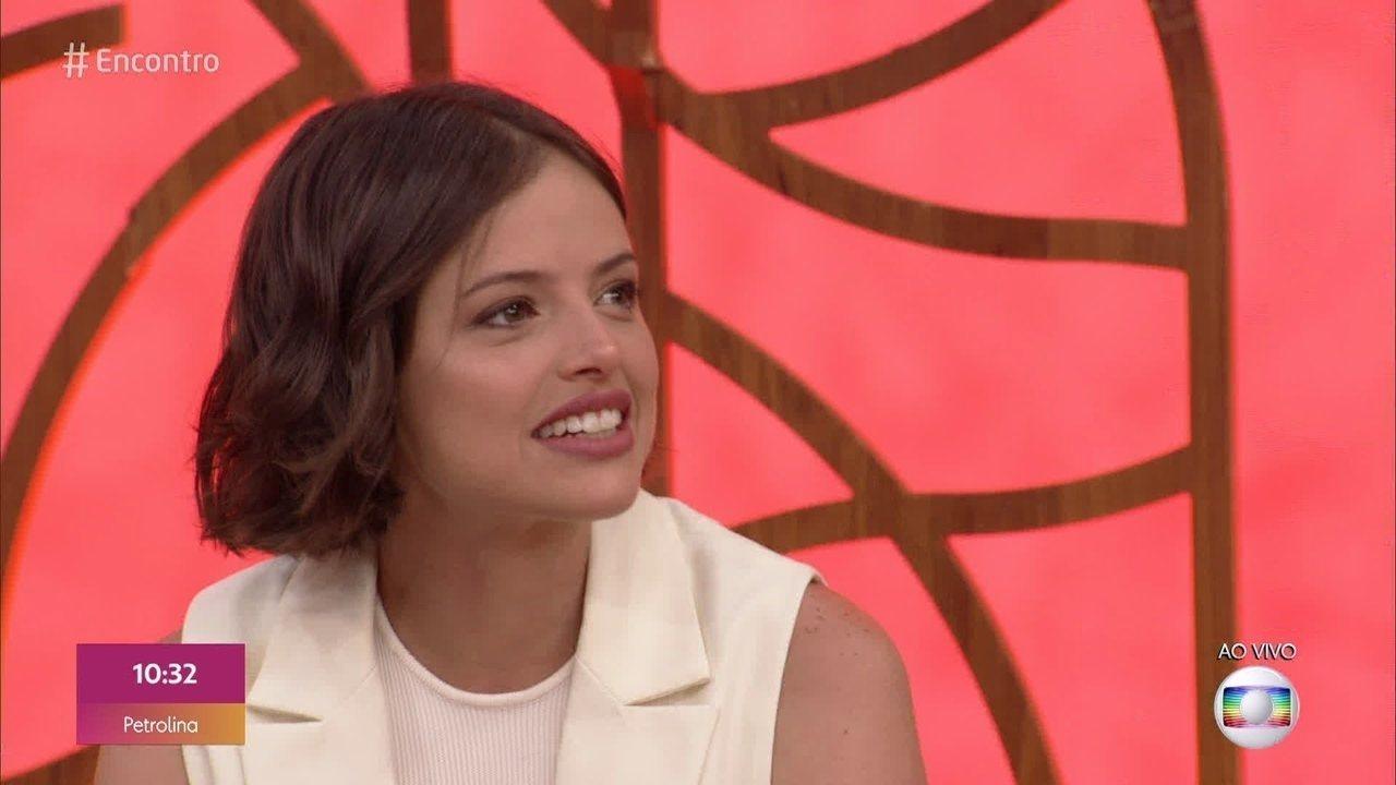 Agatha Moreira comenta cena de embate de Josiane e Maria da Paz em 'A Dona do Pedaço'