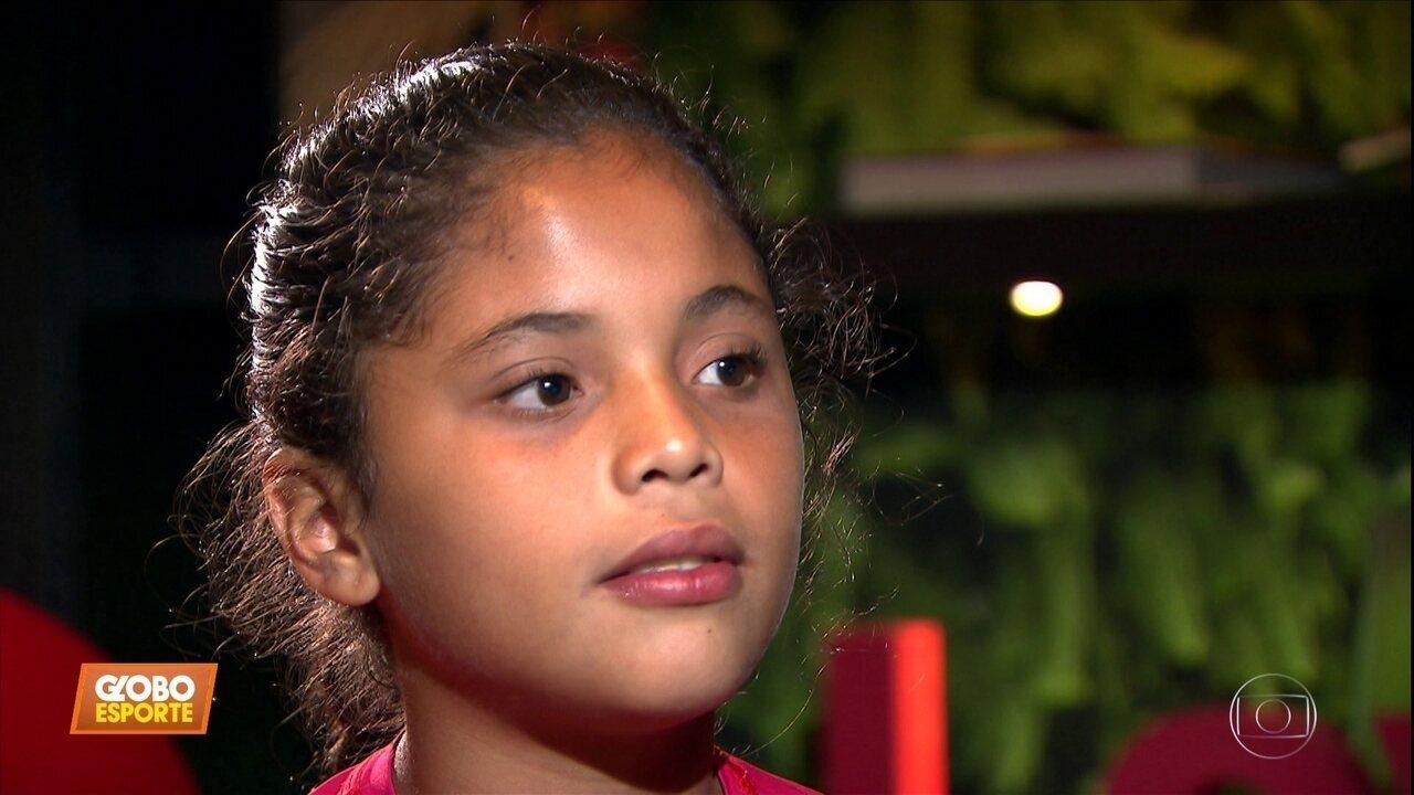 Conheça a história da Clara, 10 anos, que foi impedida de defender seu time por ser menina