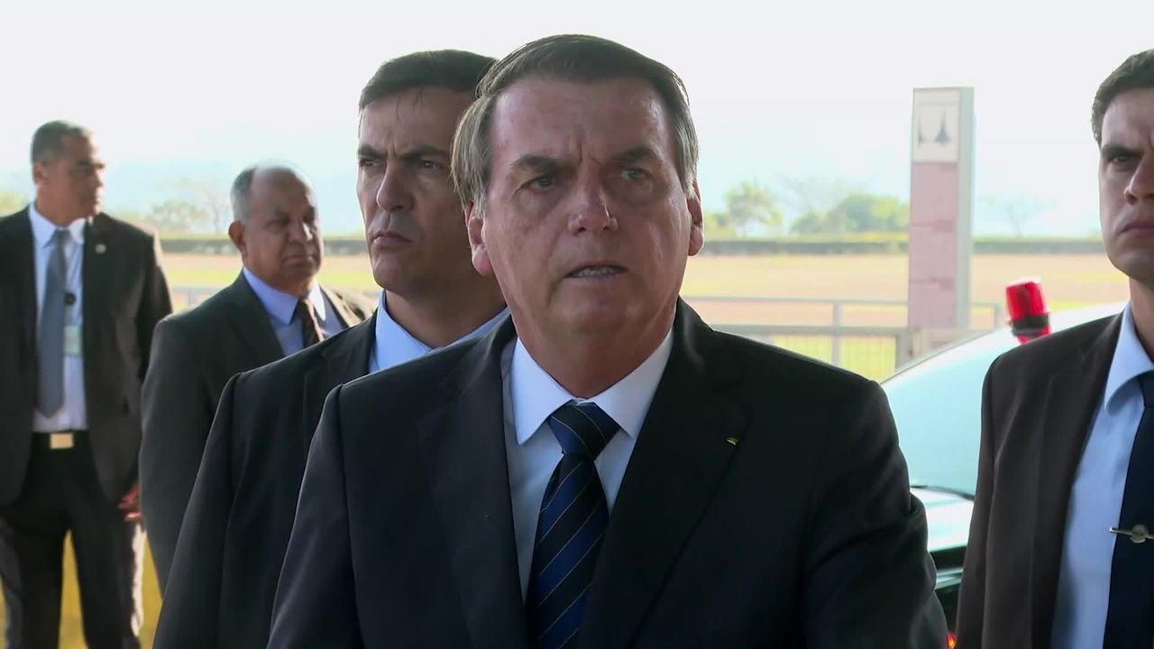 'Eu que indico o diretor da PF, e não o Sérgio Moro', diz Bolsonaro