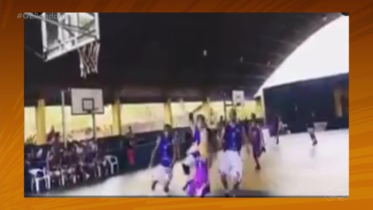 Deitou: Um toco no basquete, pelo baixinho de Ariquemes