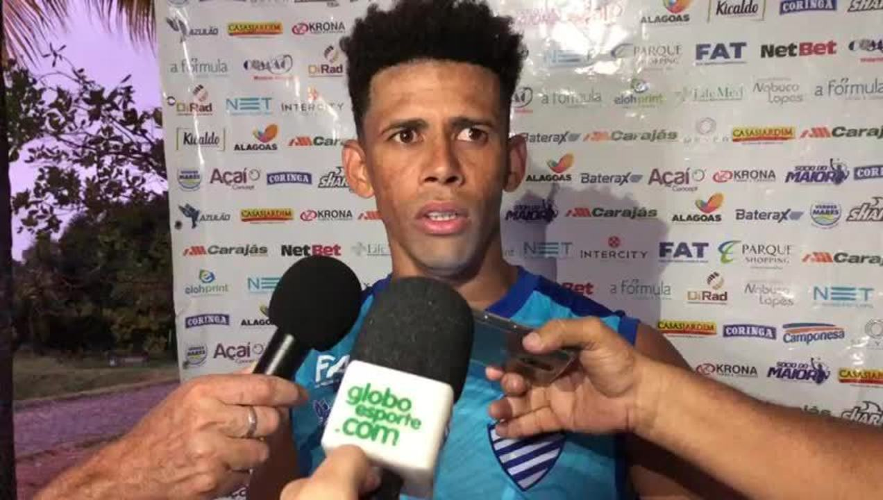 Naldo fala sobre a preparação para o jogo contra o Cruzeiro