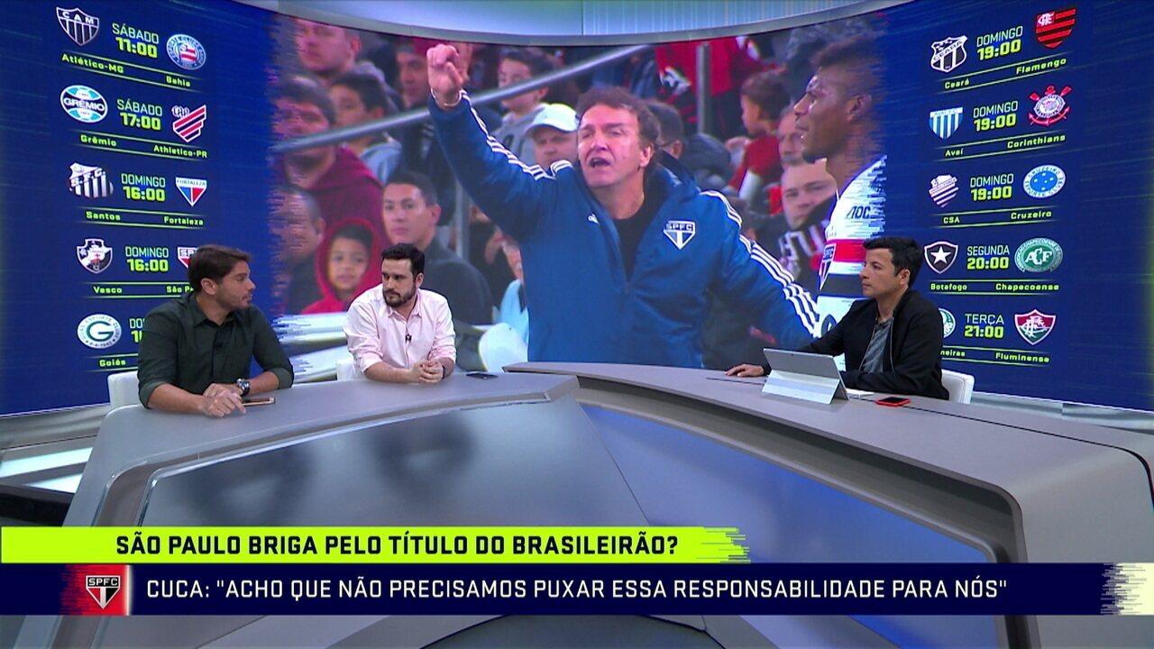 Comentaristas debatem sobre a briga do São Paulo pelo título do Brasileirão