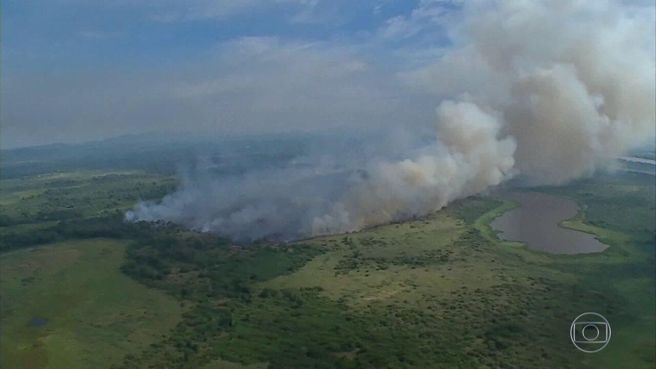 Repercussão das queimadas faz Bolsonaro mudar tom de discurso sobre Amazônia