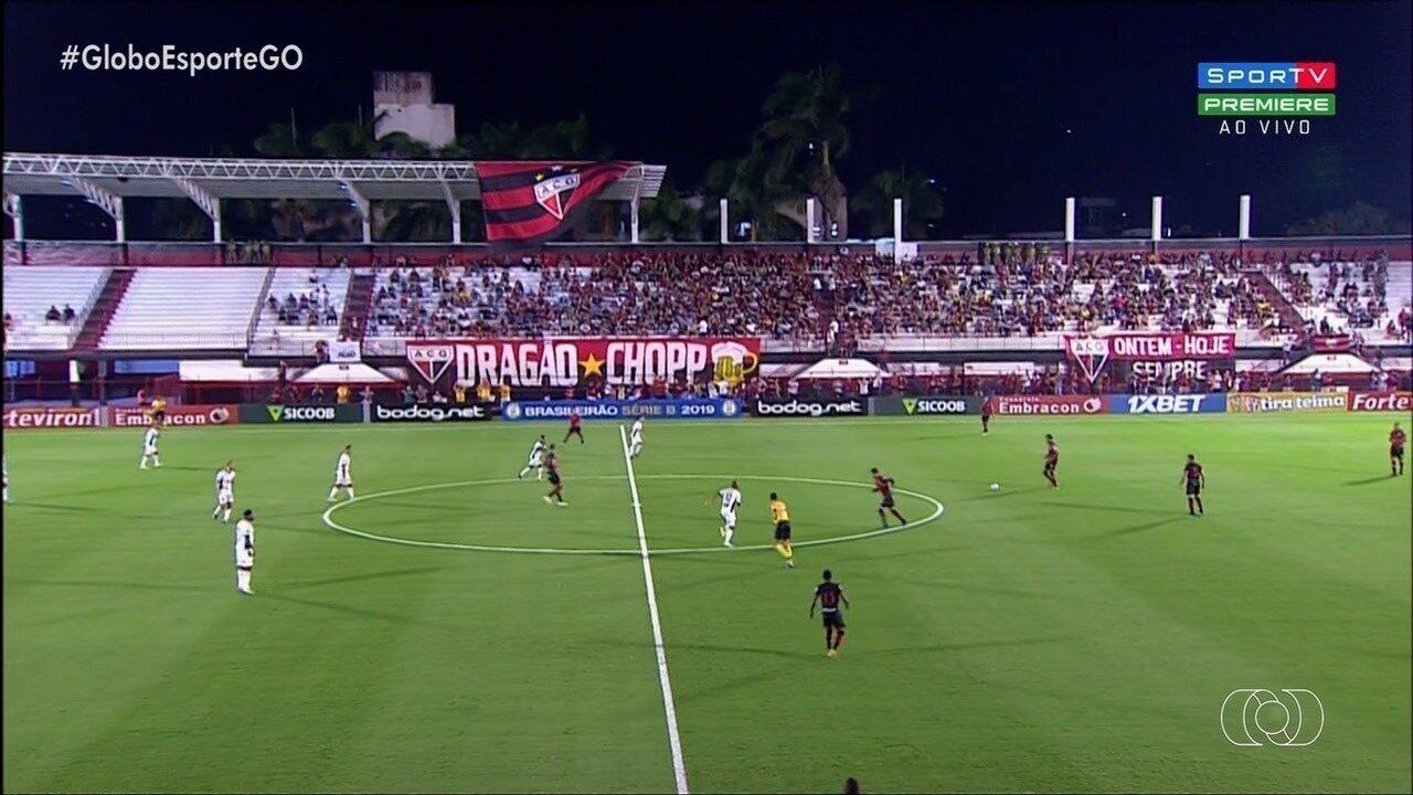 Atlético-GO não fura bloqueio do Brasil de Pelotas e empata sem gols