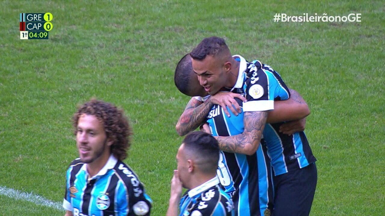 Os melhores momentos de Grêmio 2 x 1 Athletico-PR pela 16º rodada do Brasileirão 2019