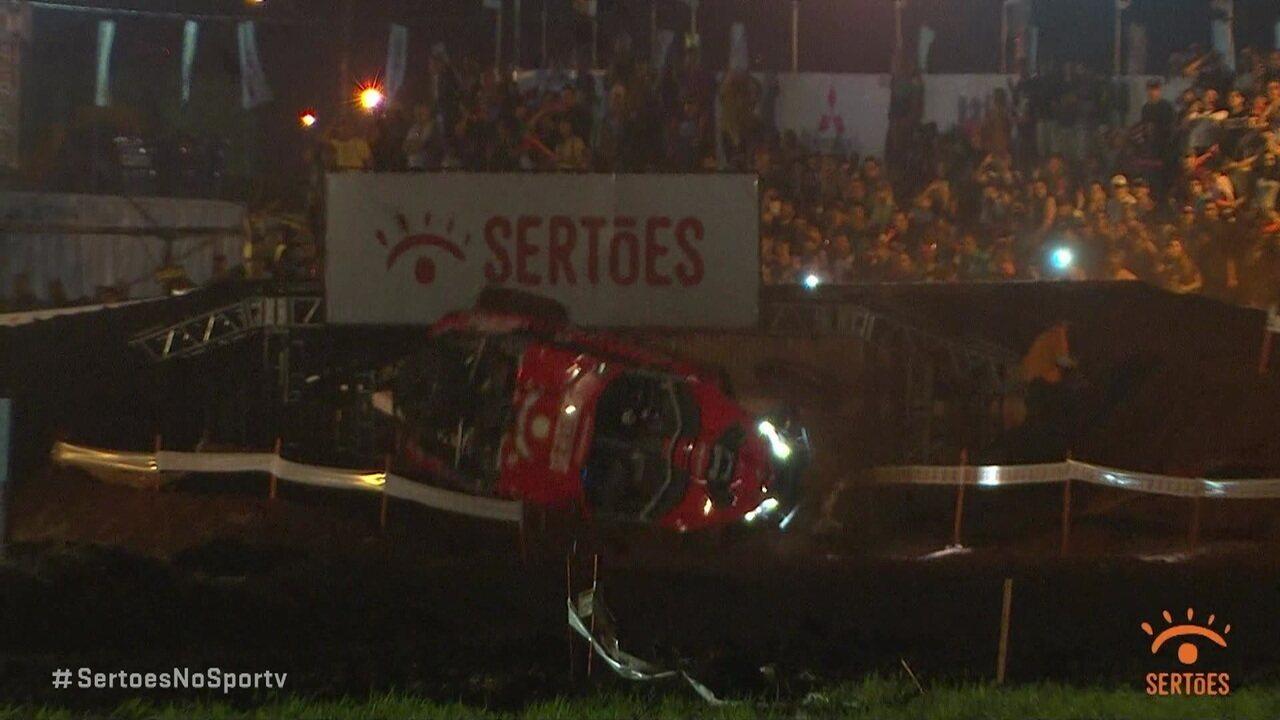 Veja as imagens dos acidentes no Rally dos Sertões