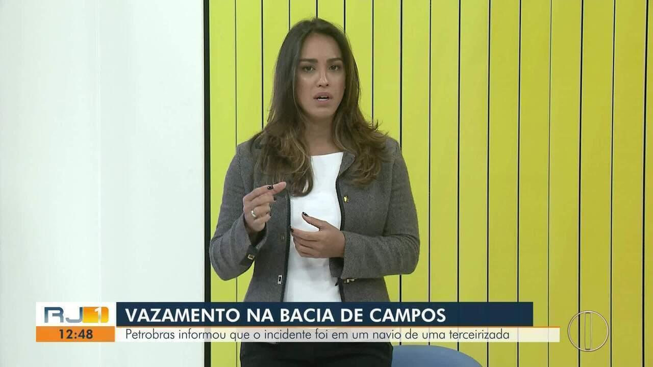 Petrobras anuncia novo vazamento na Bacia de Campos