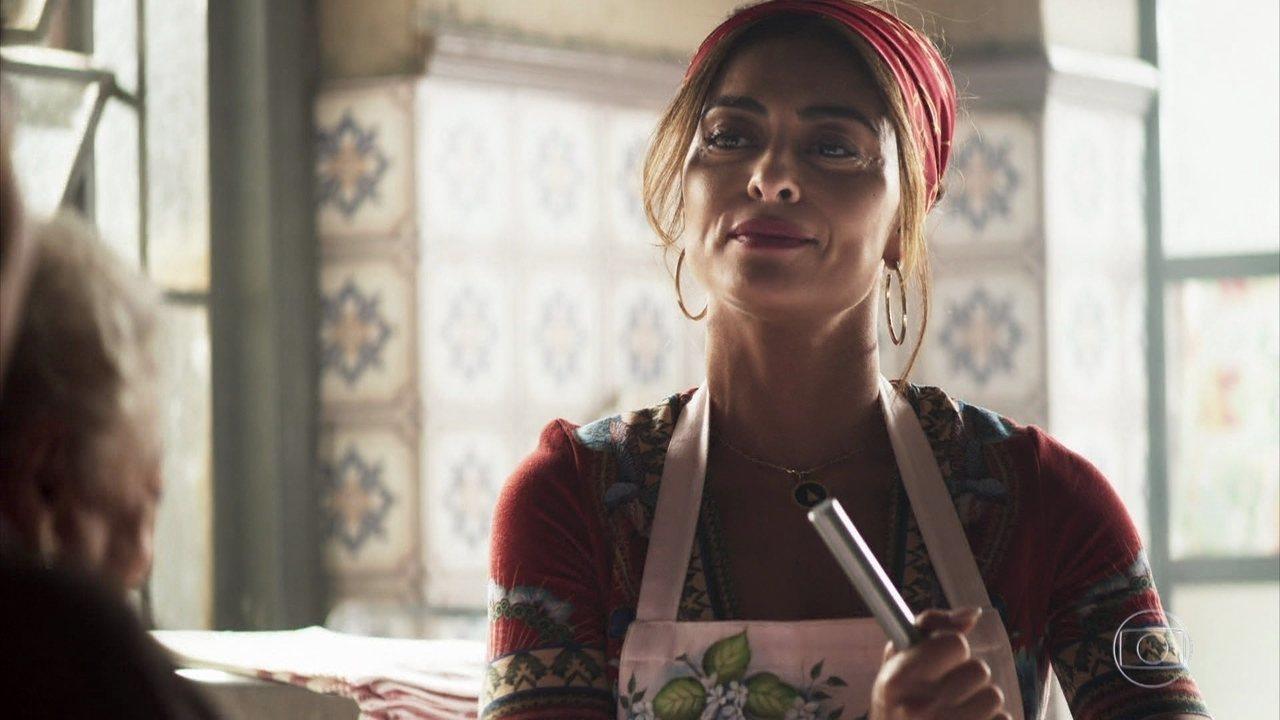Maria da Paz volta a fazer bolos