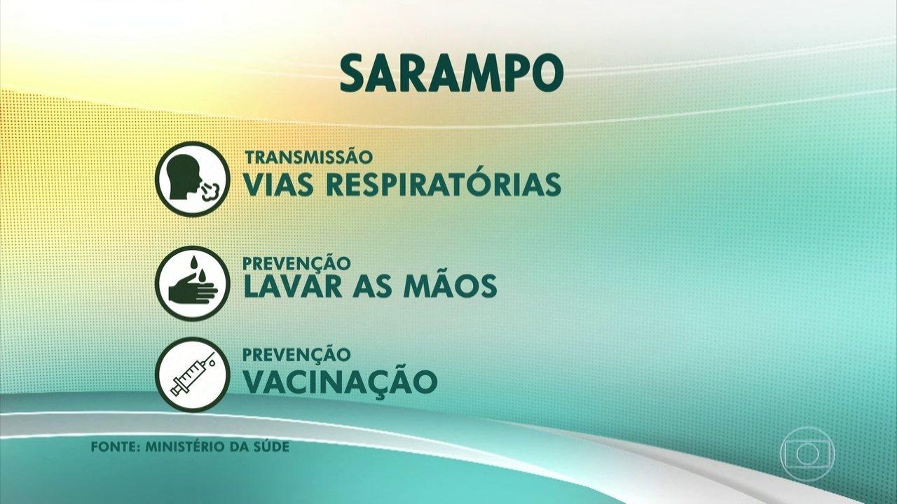 Secretaria da Saúde de SP confirma a primeira morte por sarampo no estado