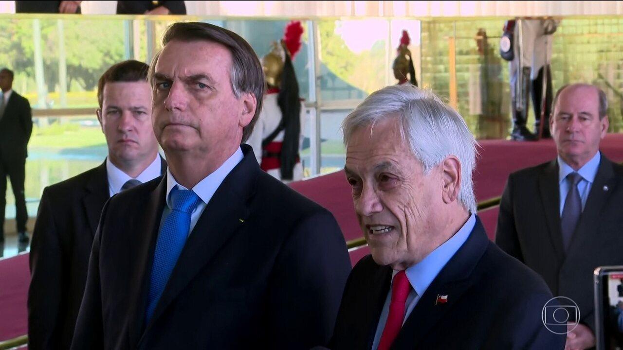 Chile oferece ajuda ao Brasil para combater queimadas da Amazônia