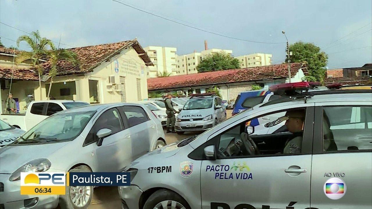 Força Nacional passa a atuar em Paulista, no programa Em Frente Brasil