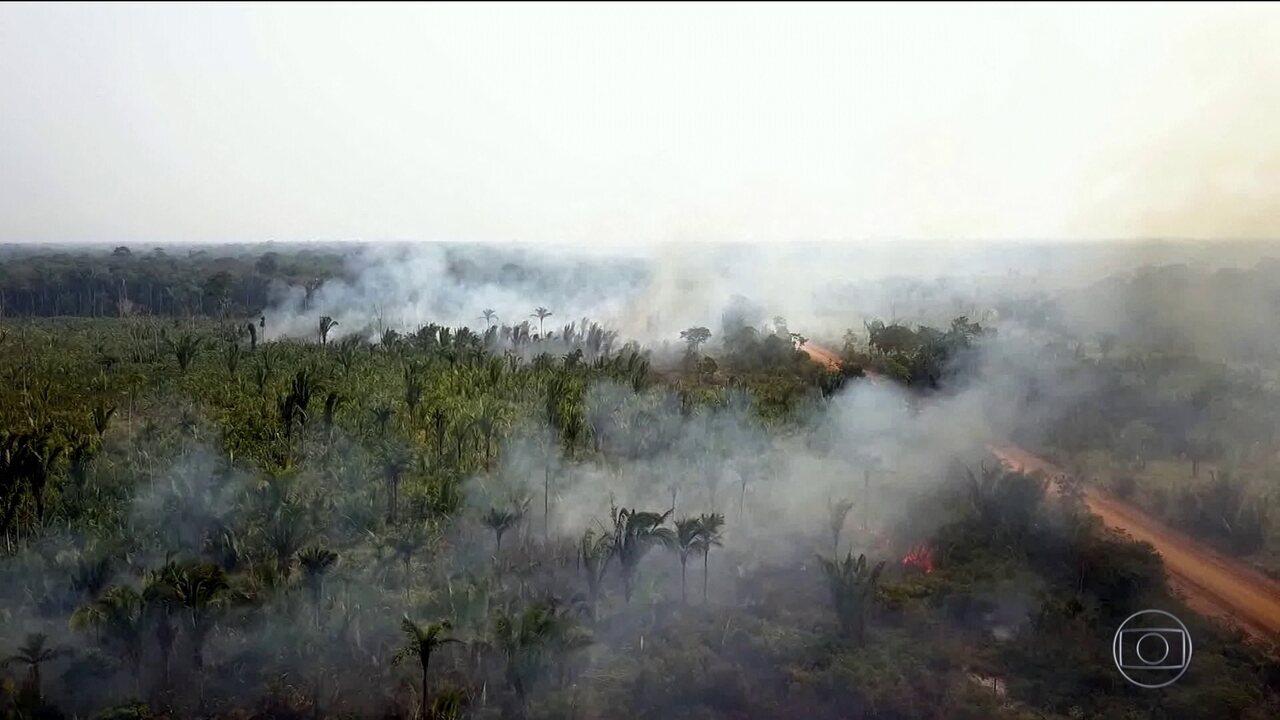 Governo vai mandar nove ministros para ver de perto a situação das queimadas na Amazônia