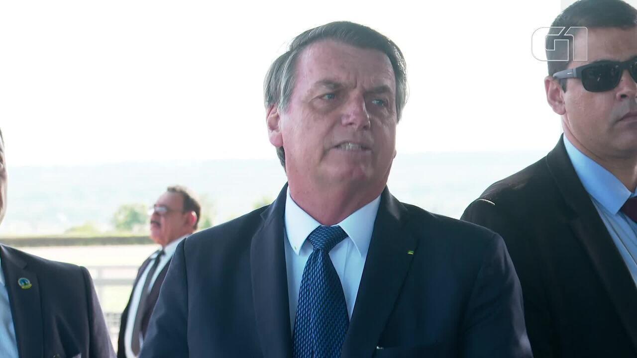 'É lógico que é lento, economia é igual um transatlântico', diz Bolsonaro sobre o PIB