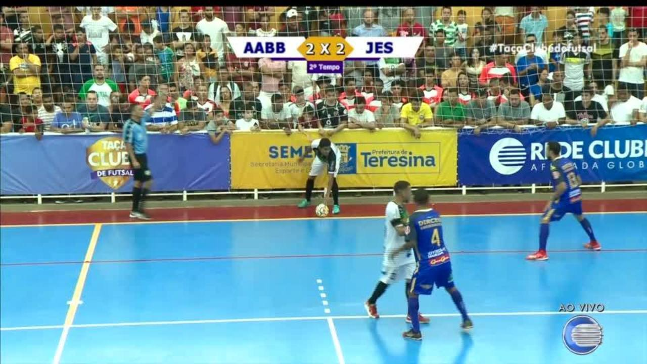 Taça Clube de Futsal: assista ao segundo tempo da final