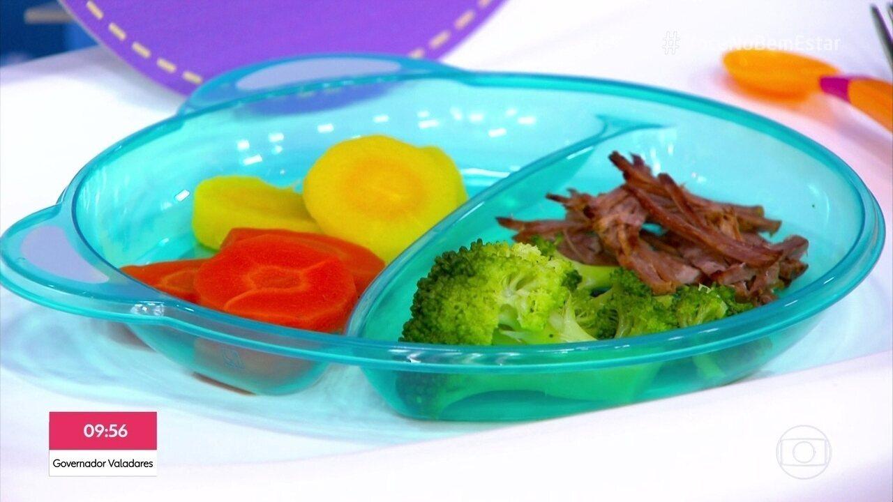 Como manter uma alimentação saudável na infância