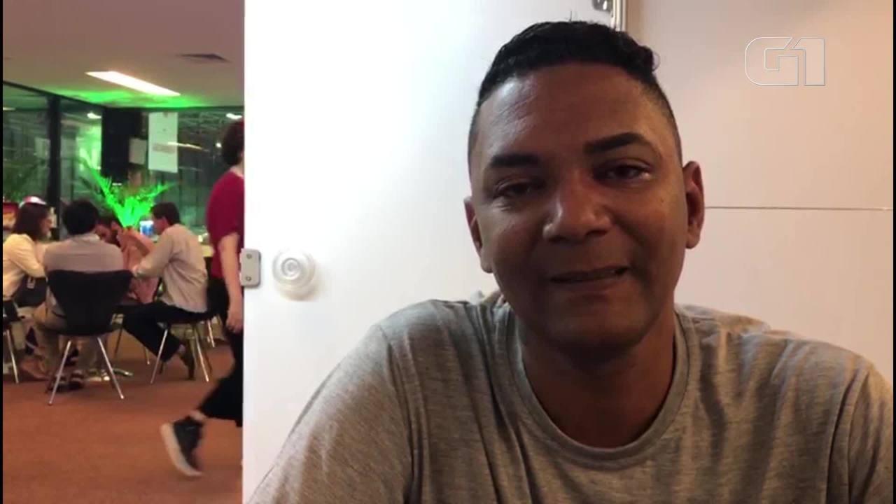 Ex-morador de rua lança livro na Bienal do Rio