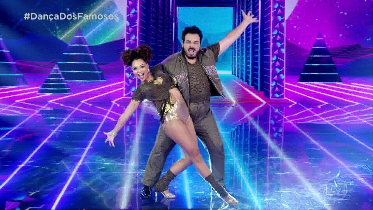 Luis Lobianco dança com Francielle Pimenta