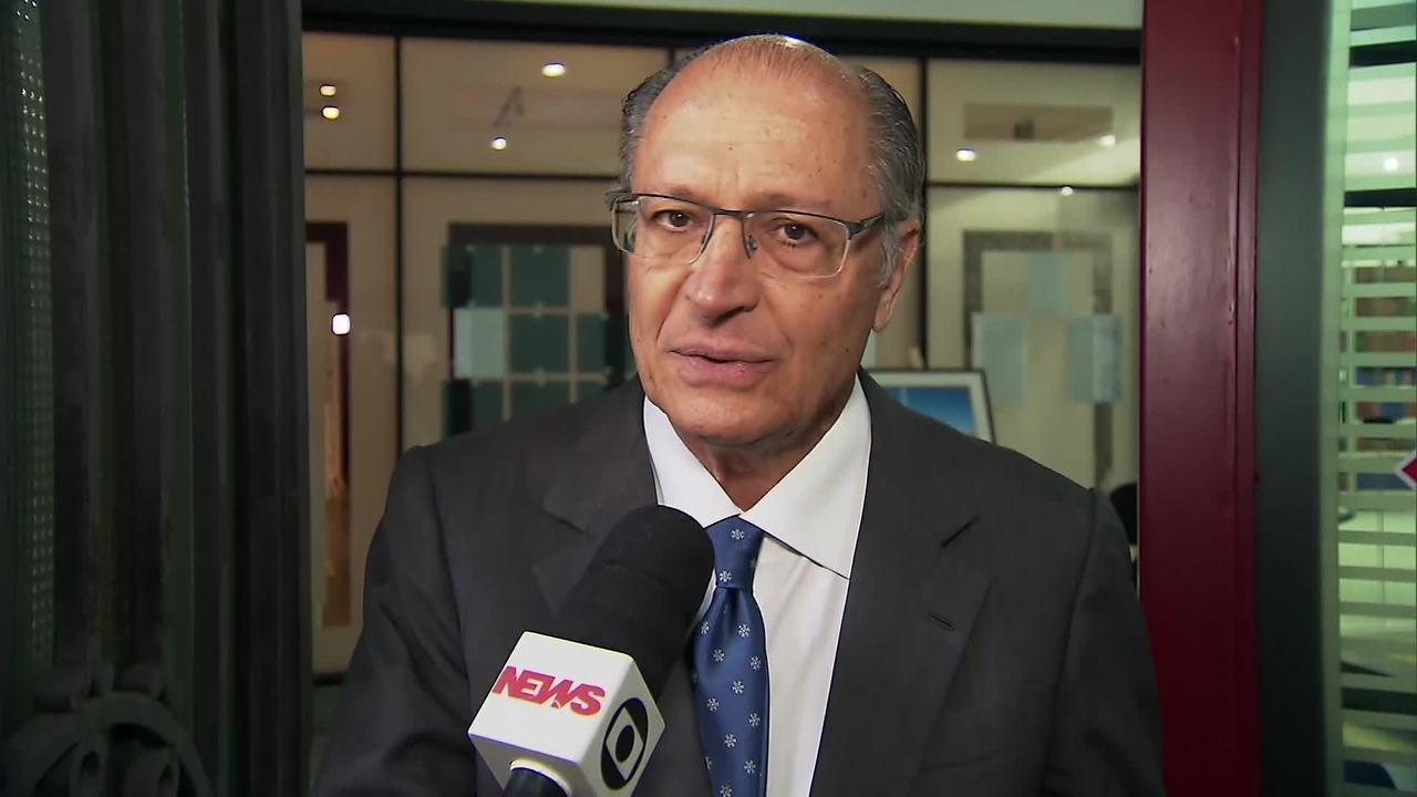 Alckimin é ouvido sobre suposto enriquecimento ilícito de Ricardo Salles