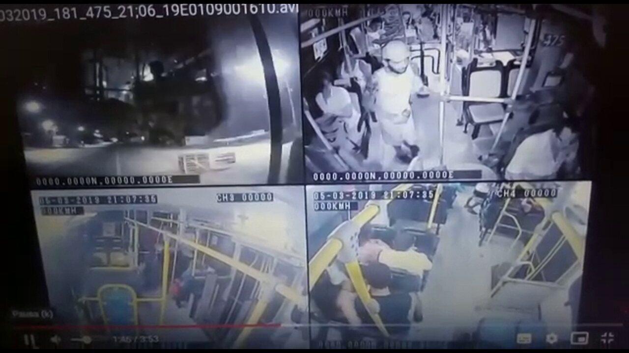 Homem que era alvo de mandados é preso por ao menos seis assaltos a ônibus