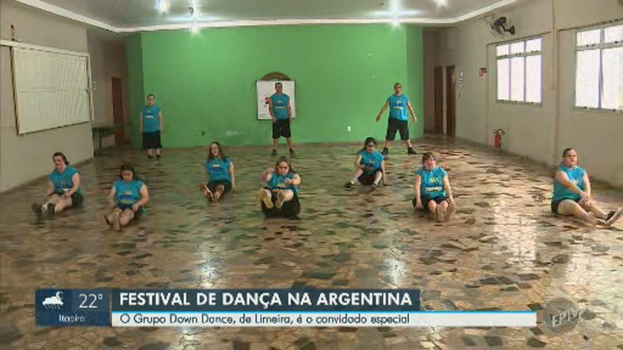 Resultado de imagem para Dançarinos com síndrome de Down de Limeira se apresentam em festival internacional