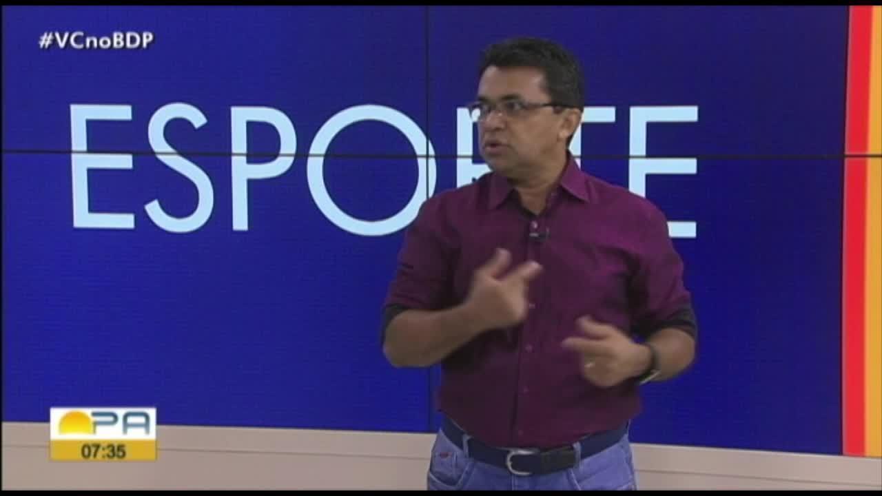 Carlos Ferreira comenta os destaques do esporte paraense nesta quarta-feira (4)