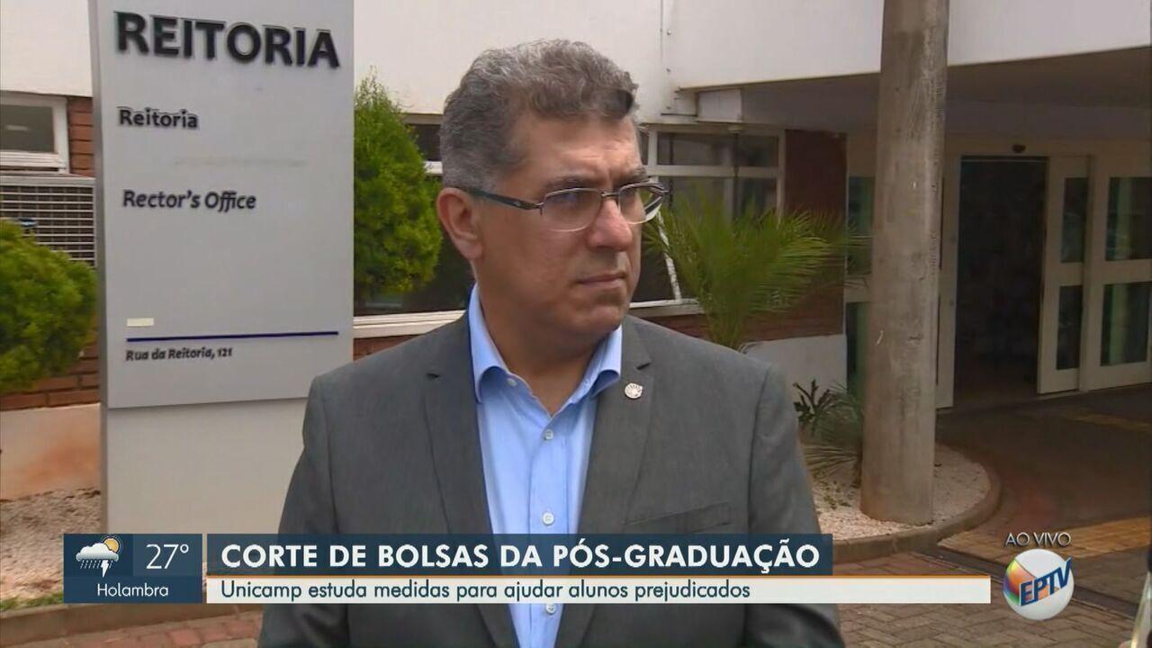 Unicamp sofre corte de 58 bolsas para mestrado e doutorado