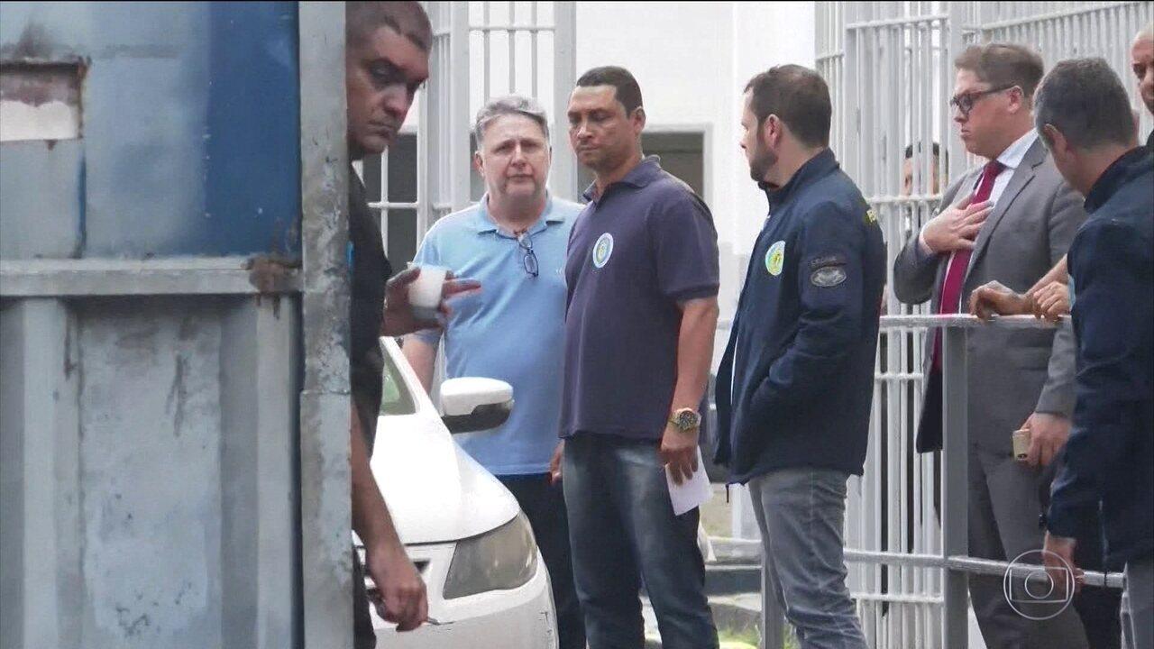 Vídeo exibido em setembro, no dia em que os ex-governadores do Rio Anthony Garotinho e Rosinha Matheus deixam a prisão