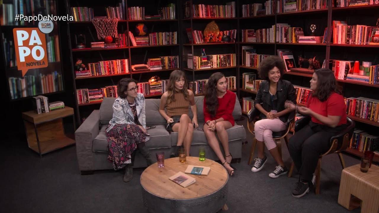 Papo de Novela #01: Bruna Inocencio, Giovanna Coimbra e Gabrielle Joie